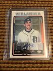2005 Topps Chrome Justin Verlander Tigers RC Rookie AUTO Astros CY Young