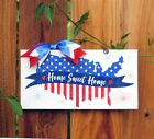 United States Home Sweet Home sign