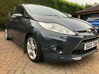 Ford Fiesta Zetec S 16TDCi 2012 3DOOR IN GREY BEAUTIFUL COMBINATION