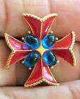 Maltese Cross Signed Trifari
