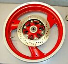 BREMBO DUCATI SS ST 2 4 MONSTER REAR WHEEL 3 SPOKE 5.5 X 17 17 MM AXLE OEM RED