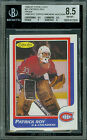 1986-87 O-PEE-CHEE #53 PATRICK ROY RC PROOF BGS 8.5 SOLO TOPPS AUCTION COA .