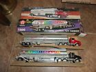 NIB VINTAGE 1995 (1975 Replica) & 1996 OLYMPIC GAMES TEXACO TANKER TRUCKS