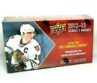 2 Box 2012-13 Upper Deck Series 1 Hockey Cards 12-Pack UD Canvas Game Jersey Box
