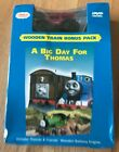 Thomas Wooden Railway DVD and Wooden Train Pack-Caroline in A Big Day For Thomas