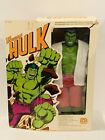 1978 Vintage Mego The Incredible Hulk 12 Figure With Box 1978 Hulk Mego Corp