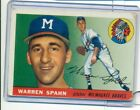 Warren Spahn Cards, Rookie Cards and Autographed Memorabilia Guide 16