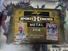 2018 Leaf SPORTS HEROES METAL Collector Card Hobby Box