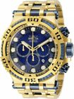 New Mens Invicta 30645 Speedway Quartz Chronograph Blue Dial 50mm Watch