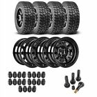 JEGS 681010K54 Jeep Wheel and Tire Kit 1987 2006 Wrangler YJ TJ 1984 2001 Cherok