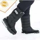 LM Mens Black Winter Snow Boots Shoes Warm Thermolite Waterproof 2008