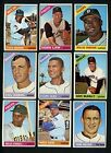 1966 Topps Lot of 30 Different cards Niekro Stargell Horton McNally Vern Law
