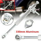 330mm Motorcycle Aluminum Steering Damper Fork Clamp Stabilizer Rod Accessories