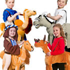 Ride on Christmas Animal Kids Fancy Dress Novelty Festive Xmas Nativity Costumes