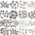 50 100Pc Tibetan Silver Metal Charms Loose Spacer Beads Wholesale Jewelry Making