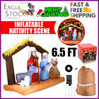 Eag Inflatable Nativity Scene Outdoor Yard Garden Lawn Christmas Decoration 65