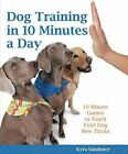 Dog Training in 10 Minutes a Day 10 Minute Games to Teach Your Dog New Tricks