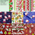 3X Christmas Wrapping Paper Present Tree Santa Wrap Decor Xmas Party Roll ME