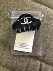 CHANEL VIP gift with purchase Black Hair Clip