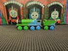 Thomas & Friends Wooden 60 YEAR EDITION HENRY & TENDER Train Car USED #