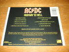 BACK TRAY CARD ONLY AC/DC Highway to Hell