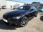 LARGER PHOTOS: 2008 BMW 320i M SPORT BLACK COUPE,ONLY 62,000 WITH FULL HISTORY,WITH RED LEATHER