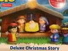 Fisher Price Little People Deluxe Christmas Story Nativity Set New for 2019