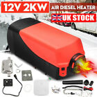 12V Car Diesel Air Heater Heating 2000W 2KW for Vehicle Caravan Boats Tucks Bus