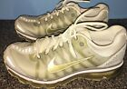 Mens Nike Air Max 2009 Gold Nike LOGO Volt 95 Athletic Sneakers Shoes