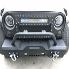 Off-road Front Rear Bumper Led Lights Receiver For 2007-2018 Jeep Wrangler Jk