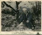 1959 Press Photo Victor Sjostrom actor in Ingmar Bergmans Wild Strawberries
