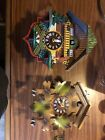 2 Vintage Hekas Cuckoo Clock Made In Germany.
