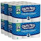 Quilted Northern Ultra Soft  Strong Toilet Paper 12 Count Pack of 4
