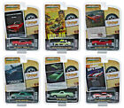 VINTAGE AD CARS SERIES 1 6 PC SET 1 64 DIECAST MODEL CARS BY GREENLIGHT 39020