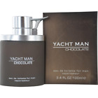 YACHT MAN CHOCOLATE by Myrurgia cologne EDT 3.3 / 3.4 oz New in Box