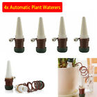 4pcs Plant Self Watering Stakes Automatic Spikes Cone Design Irrigation System