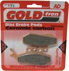 Goldfren Brake Pads Front For Ccm SR 40 Street Scrambler 2007-2009