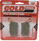 Goldfren Brake Pads Rear For Ccm SR 40 Street Scrambler 2007-2009