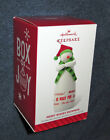 2014 Hallmark MERRY WISHES SNOWMAN Christmas tree keepsake ornament new in box