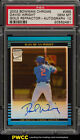2002 Bowman Chrome Gold Refractor David Wright ROOKIE RC AUTO #385 PSA 10 (PWCC)