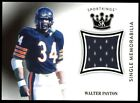 Walter Payton Football Cards, Rookie Card and Autograph Memorabilia Guide 35
