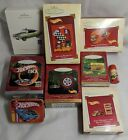 Hot Wheels Hallmark And Assorted Christmas Tree Ornaments Lot of 10