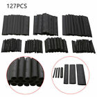 127 Pcs Heat Shrink Tubing Insulation Shrinkable Tube 21 Wire Cable Sleeve Kit