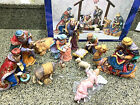 Kirkland Signature 12 Piece Porcelain Nativity Set Figures Only Missing Creche