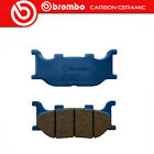 Brake Pads Brembo Carbon Ceramic Front MBK Skyliner 400 2004 >