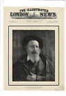 OCT 15 1892 ILLUSTRATED LONDON NEWS ALFRED BARON TENNYSON POET AD PRINT I508
