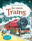 See Inside Trains, Hardcover by Bone, Emily; King, Colin, Brand New, Free shi...