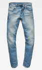 G Star Raw Mens Vintage Medium Lyse Stretch Denim 3301 Tapered Leg Jeans