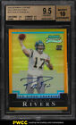 2004 Bowman Chrome Gold Refractor Philip Rivers ROOKIE AUTO 50 BGS 9.5 (PWCC)