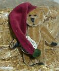 Twizzle Wuzzie Boyds miniature 3in collectible teddy bear Christmas Elf  595141